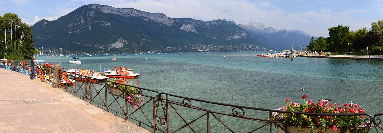 Haute-Savoie, Annecy (le lac)