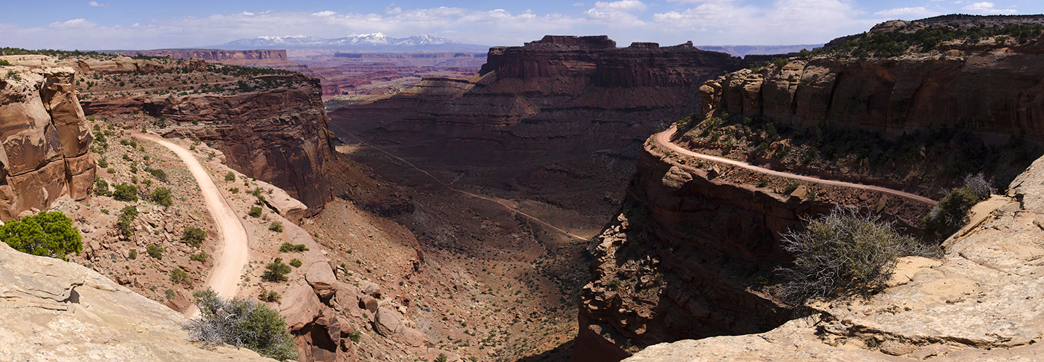 Canyonlands N.P., Shafer Canyon Overlook
