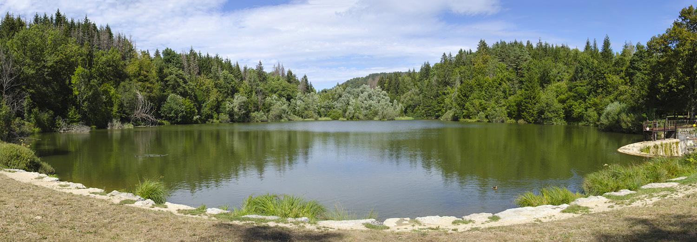 Cuttura - Le lac