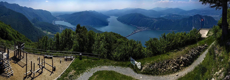 Cima Sighignola, lac de Lugano