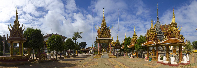 Kampong Thom, pagode
