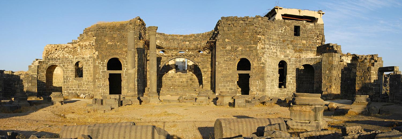 Bosra, ruines de la ville antique