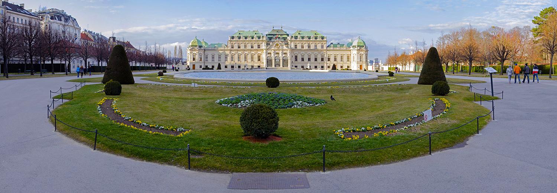Vienne, le belvédère
