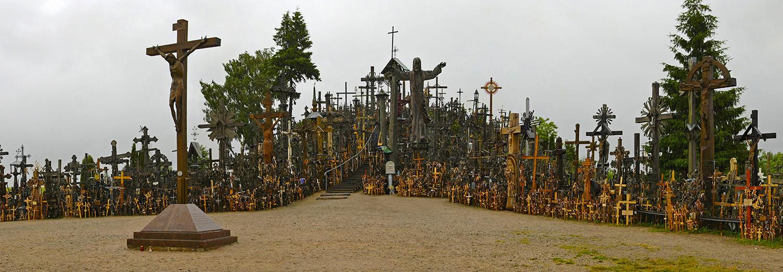 Lituanie, Siauliai (colline des croix)