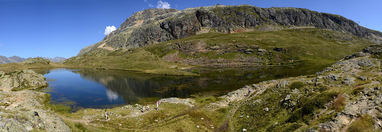 Alpe d'Huez, lac Besson