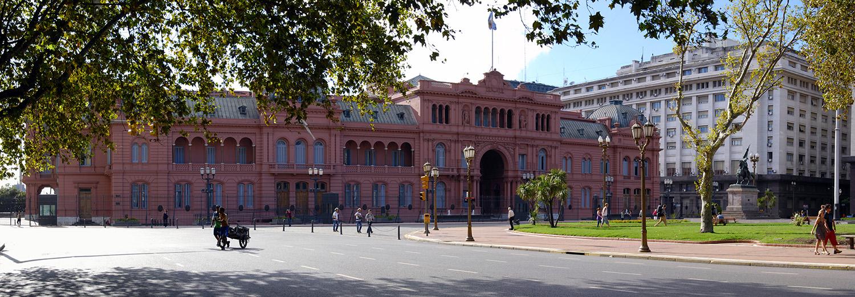 Buenos Aires, Plaza de Mayo (Casa Rosada)