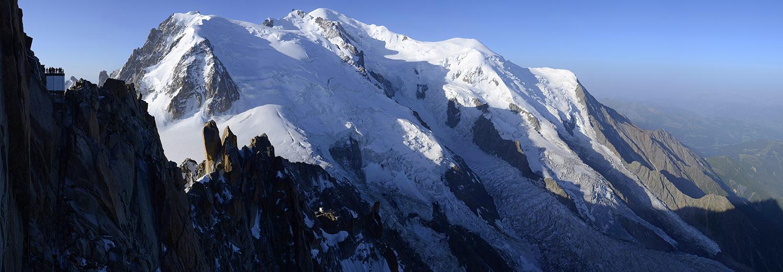 Haute-Savoie, Aiguille du Midi (Mt Blanc du Tacul, Mt Maudit et Mt Blanc)