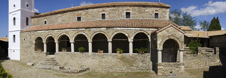 Ardenica, le monastère