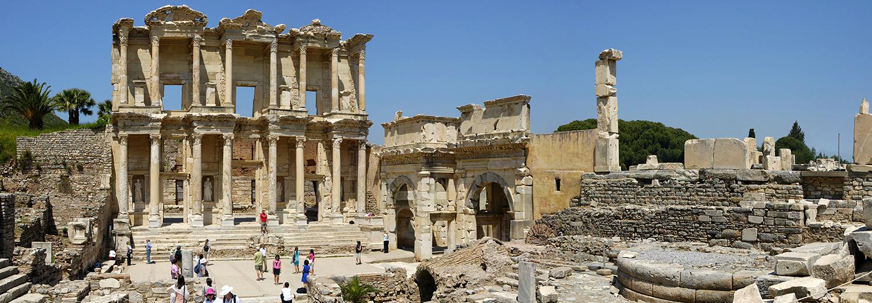 Ephèse, bbliothèque de Celsus