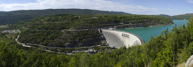 Belvédère du barrage de Vouglans