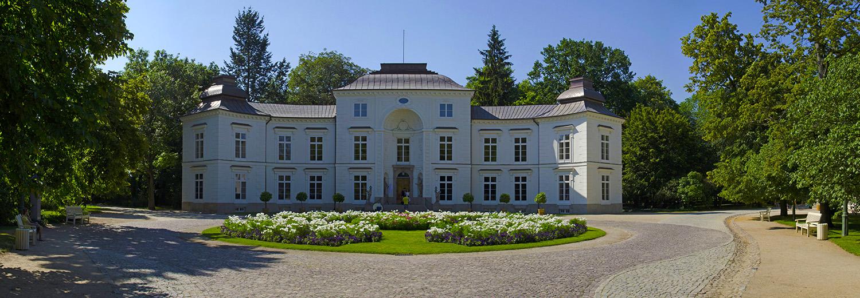 Varsovie, parc Lazienki (pavillon de chasse)