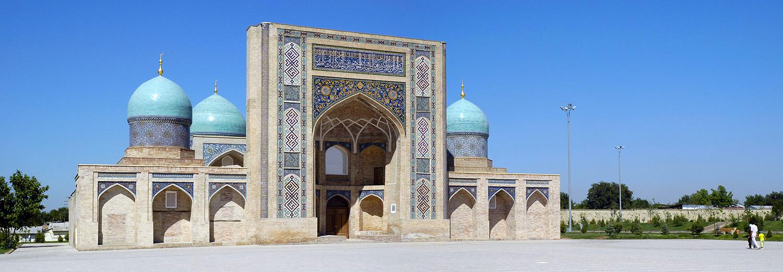 Samarkand, Hazrati Imam (medersa Barak Khan)
