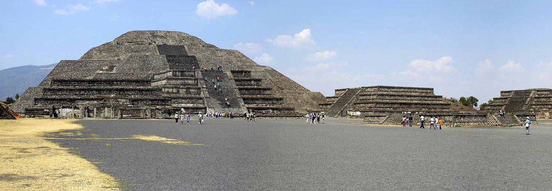 Teotihuacan, pyramide de la lune