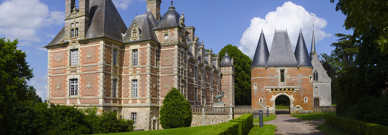 Gouville, château de Chambray