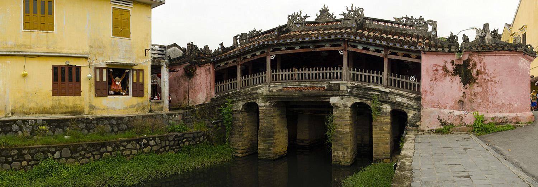 Hoi An, pont japonais
