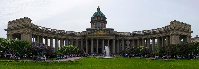 Saint Petersburg, cathédrale Notre-Dame de Kazan