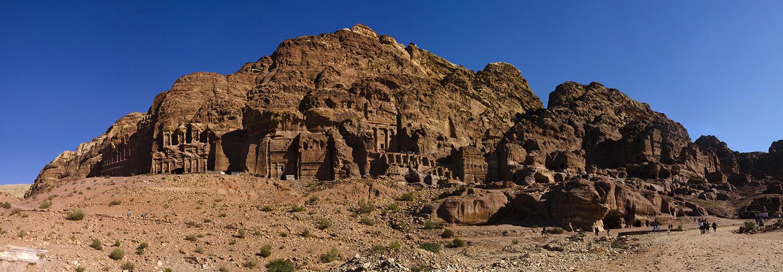 Petra, les tombeaux