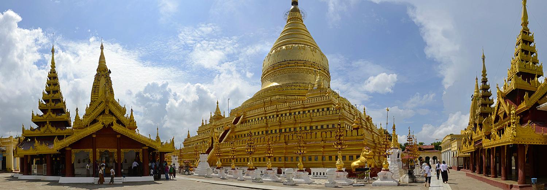 Nyaung Oo, pagode Shwezigon