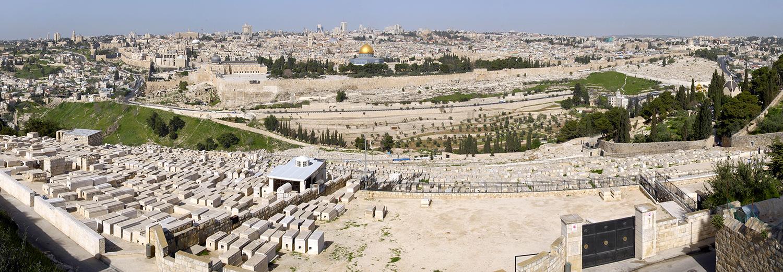 Jérusalem vu du Mont des Oliviers