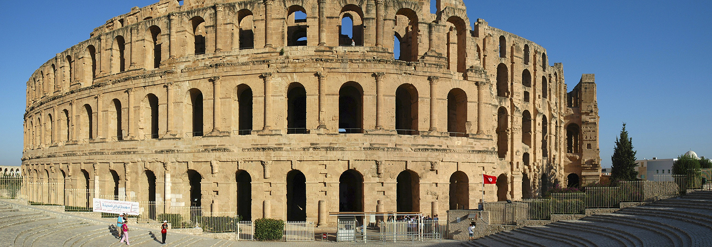 El Jem, théâtre romain