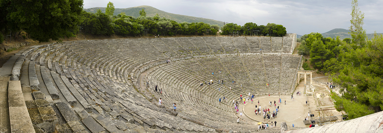 Epidaure, le théâtre