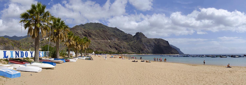 Tenerife, San Andres (playa de las Teresitas)