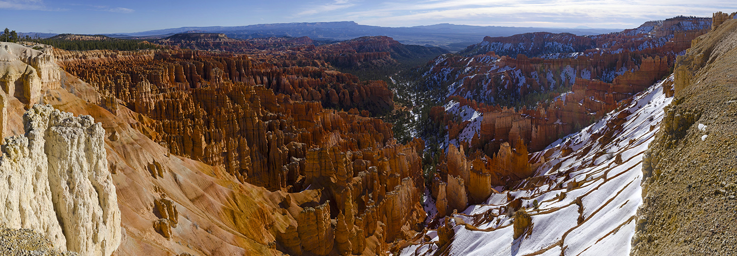 Bryce Canyon N.P., entre Inspiration Point et Sunset Point
