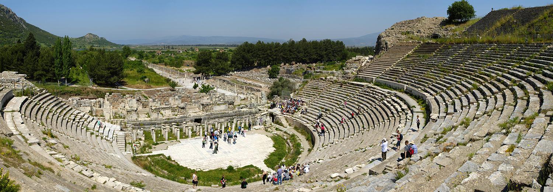 Ephèse, le théâtre