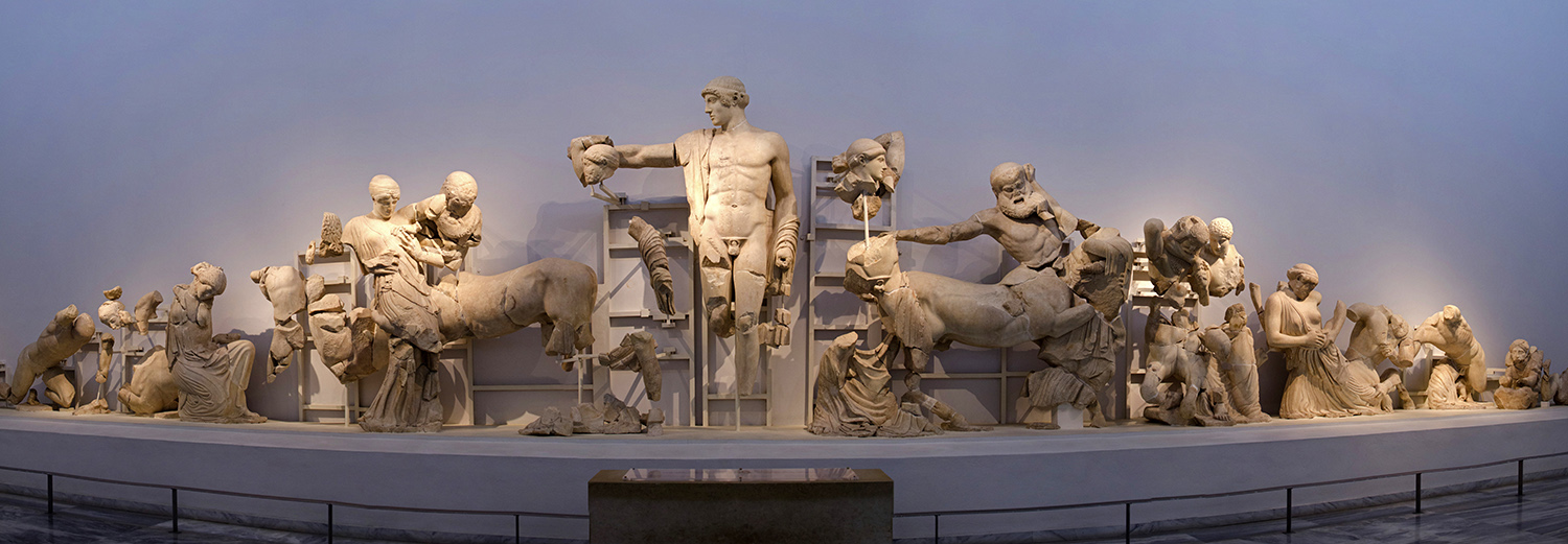 Olympie, musée (West Pediment of Temple of Zeus)
