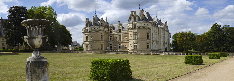 Sarthe, château du Lude
