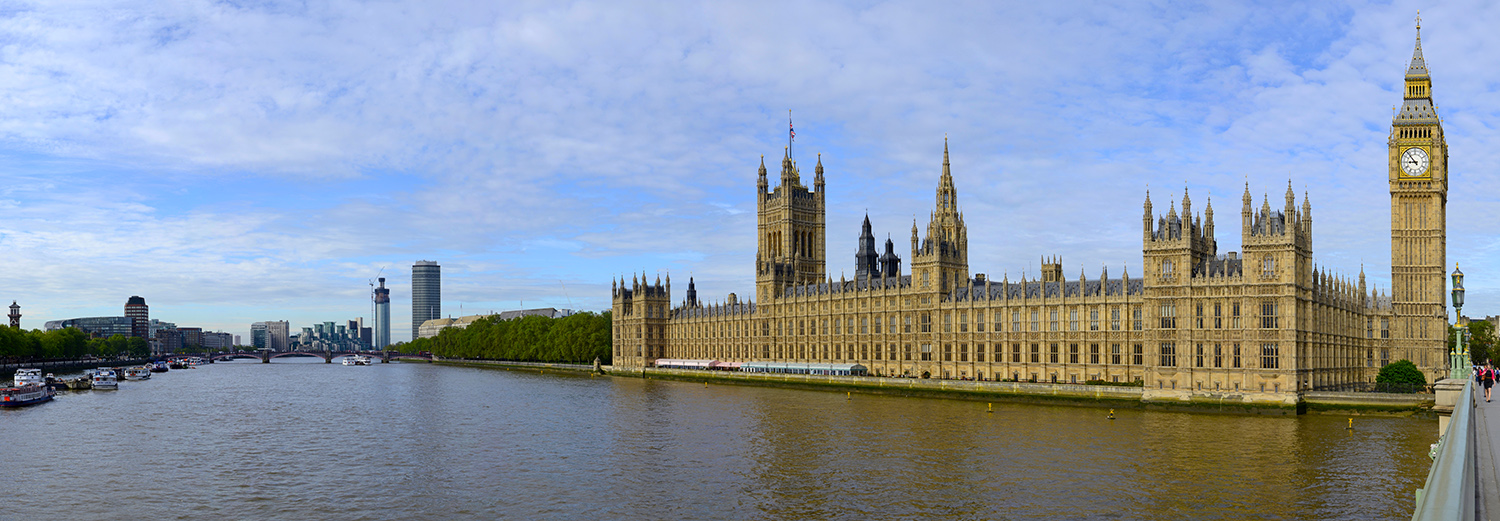 Londres, Houses of Parliament, Big Ben et Westminster Bridge
