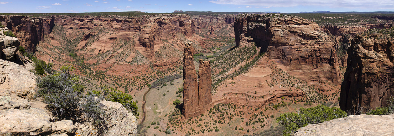 Canyon de Chelly, Spider Rock Overlook