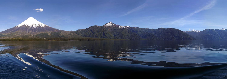 Lac Todos Los Santos, volcans Orsono & Puntiagudo
