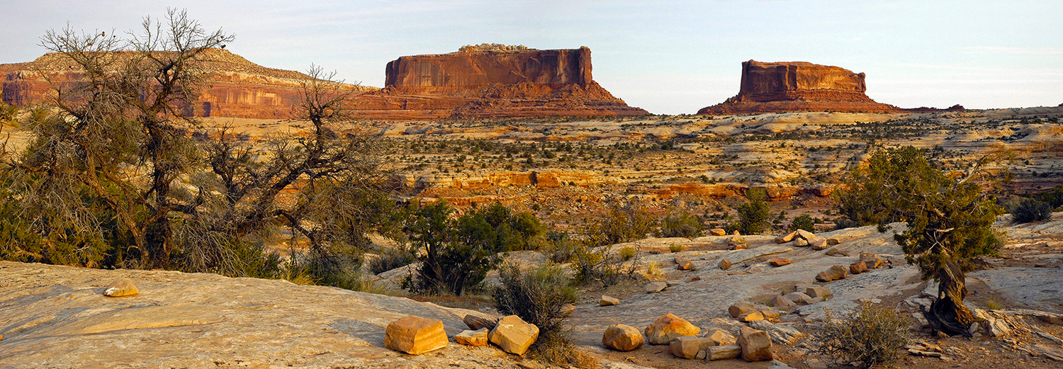Canyonlands N.P., Monitor & Merrimac