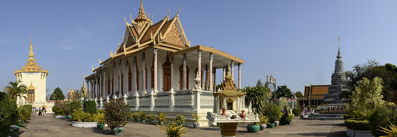 Phnom Penh, pagode d'argent