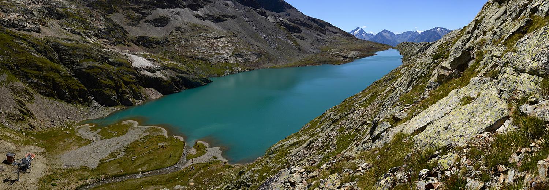 Alpe d'Huez 2700, lac blanc