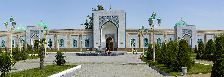 Samarkand, mausolée de l'Imam Al Boukhari