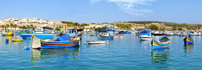Marsaxlokk, le port