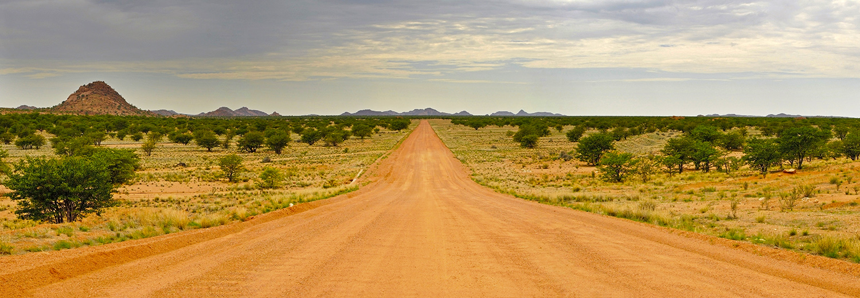 Entre Twyfelfontein et Swakopmund