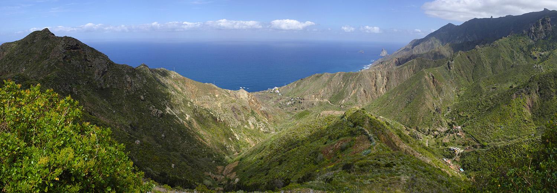 Tenerife, parc rural d'Anaga (Mirador de Mogoje)