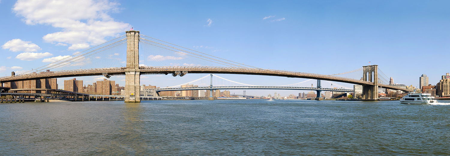 New York, Brooklyn & Manhattan Bridges