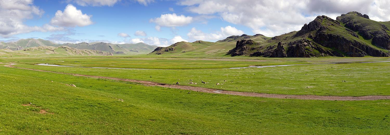 Entre les monts Bogd et la vallée de l'Orkhon