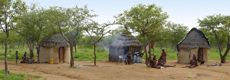Kamanjab, village Himba
