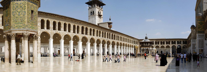 Damas, mosquée des Omeyades (Jaamea Ommawi)