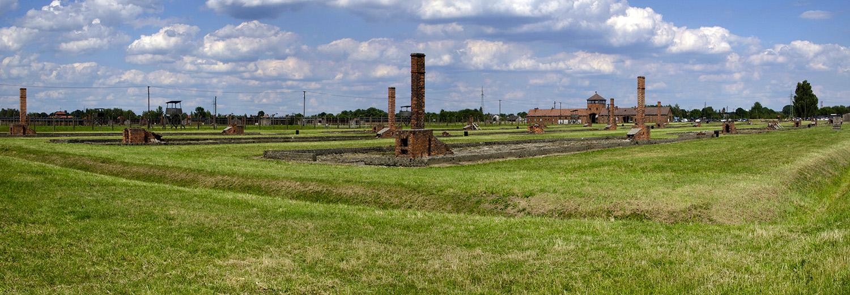 Brzezinka, camp de Birkenau-Auschwitz 2