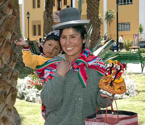 Arequipa, dans la quartier Yanatuara...