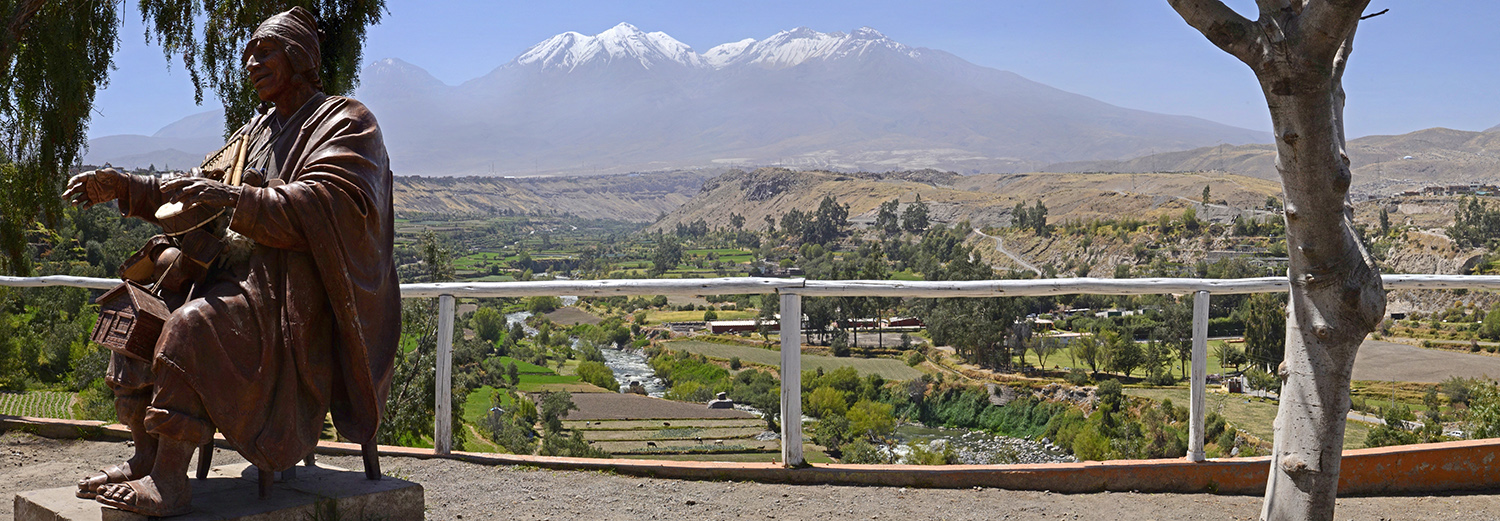 Arequipa, volcan Chachani