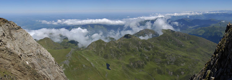 Pic du Midi de Bigorre, vue Nord