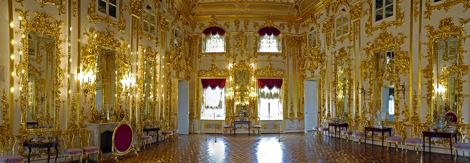 Peterhof, Grand Palais (salle d'audiences)
