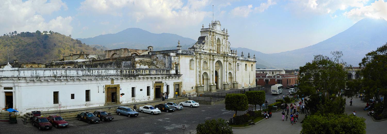 Antigua, la cathédrale